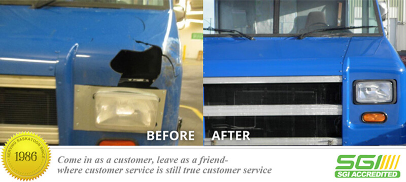 Front End Delivery Truck Fix